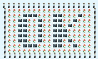 Smile ascii art Scarecrow's ASCII